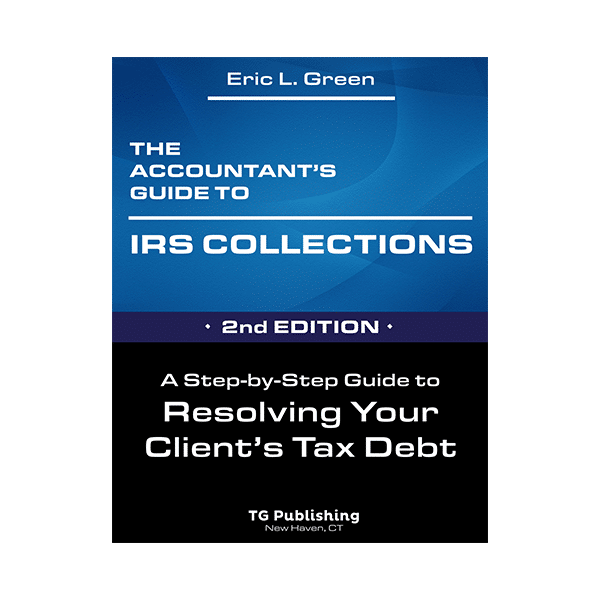 tax professionals books guide to irs collection